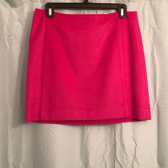 The Limited Dresses & Skirts - Wool Magenta Mini Skirt